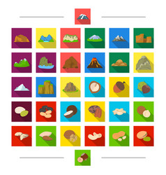 dessert food ecology and other web icon in vector image