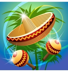 fiesta time vector image