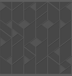 grey tile seamless pattern vector image