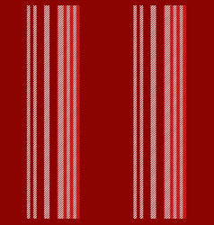 red background lines seamless pattern vector image