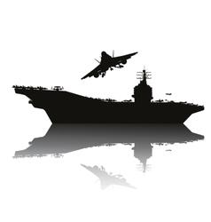 Navy power vector image vector image