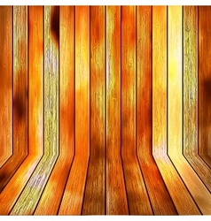 Background wooden floor boards EPS10 vector image vector image