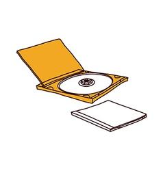A compact disk vector