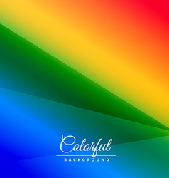 Abstract colorful background with stripes vector