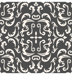 Damask seamless classic pattern vector image