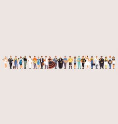 large set of professions vector image