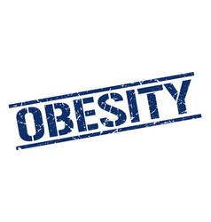 Obesity stamp vector
