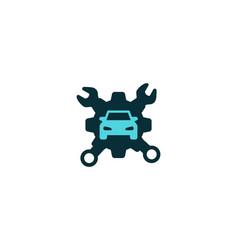 service tool car repairing logo designs vector image