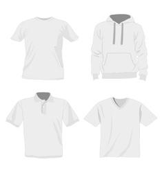 t-shirt templates vector image