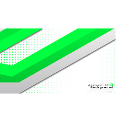 Bright abstract background template green with a vector