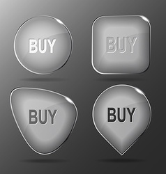Buy Glass buttons vector