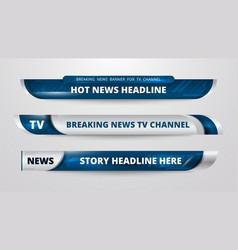 News banner design vector