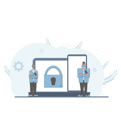 Online privacy intellectual property rights vector