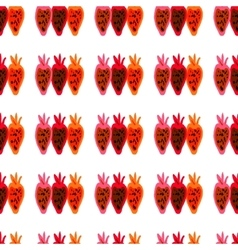 Seamless pattern of colored beet roots painted by vector image