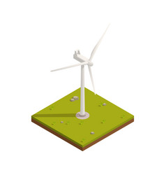 Wind power turbine composition vector
