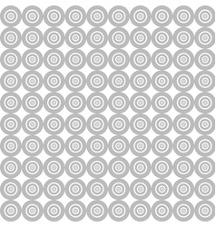 white circle pattern background with abstract vector image vector image