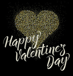 Card on valentine day vector