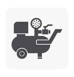 air compressor pump vector image