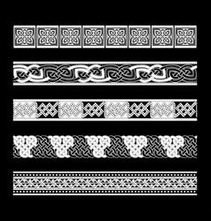 Celtic traditional ornament vector