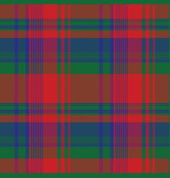 classic color tartan pixel seamless pattern vector image
