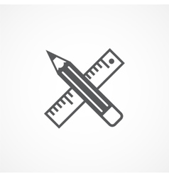 Design tools icon vector image