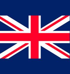 flag uk union jack british icon england or great vector image