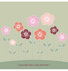 from roses vector image