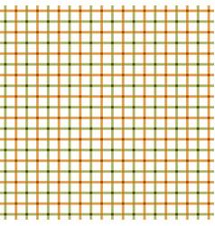 Green orange tattersall pattern vector