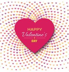 Happy Valentines Day background vector