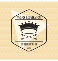 Hipster and vintage style icon design vector