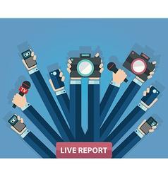 Live report vector