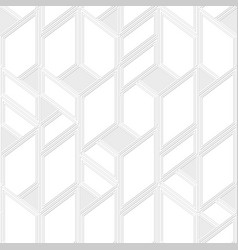 monochrome frame mosaic pattern vector image