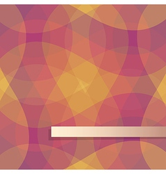 red and yellow pattern background vector image vector image