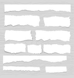 scrap paper vector image