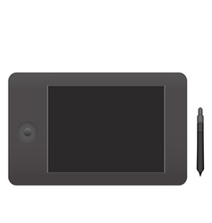 Semi Realistic Graphics Tablet vector image