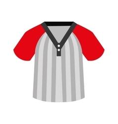 Shirt baseball icon isolated vector