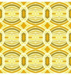 Tribal pattern with overlapping circles vector image