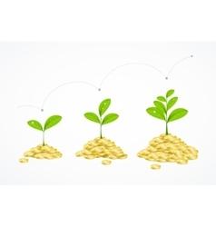 Money Tree Concept vector image vector image