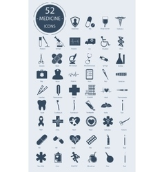 Medical icons elements vector image