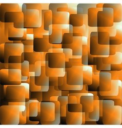 Abstract orange square background vector