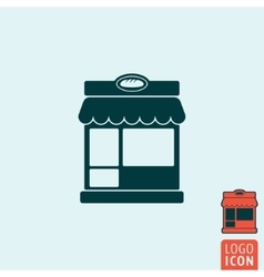 Bakery icon isolated vector