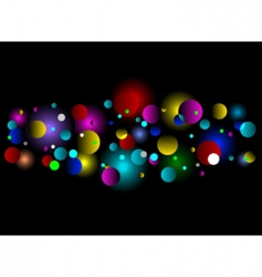 bokeh light effect background vector image