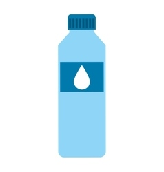 bottle water isolated icon design vector image