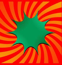 comic bright template vector image