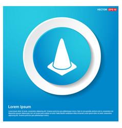 Cone icon vector