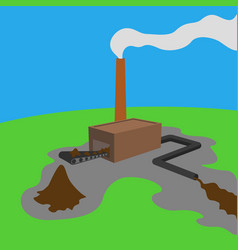Environmental mess vector