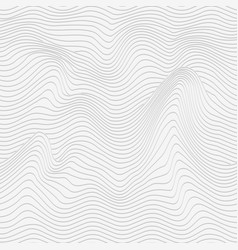 monochrome wave texture vector image