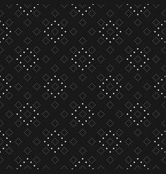 subtle minimalist dotted seamless pattern fine vector image