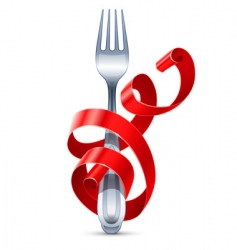 Table fork vector