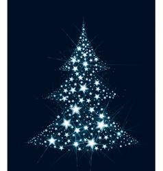 Tree star vector